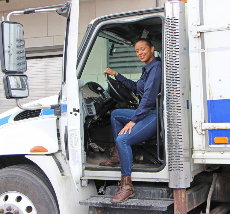 April January - CEO and founder of AJP Commercial Shredding